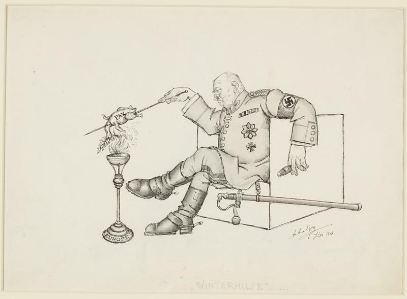 CM_1995.40.74 front Arthur Szyk drawing
