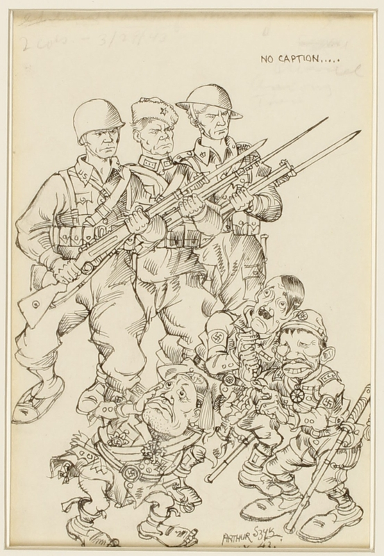 CM_1995.40.77 front Arthur Szyk drawing