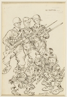 CM_1995.40.77 front Arthur Szyk drawing  Click to enlarge