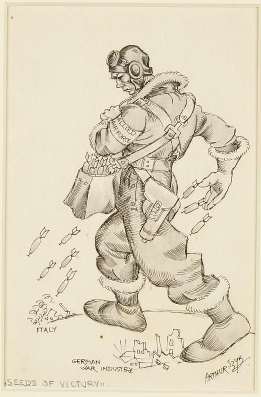 CM_1995.40.78 front Arthur Szyk drawing