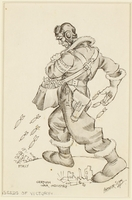 CM_1995.40.78 front Arthur Szyk drawing  Click to enlarge