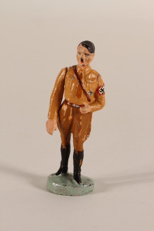 1995.51.2 front Toy figure of Hitler