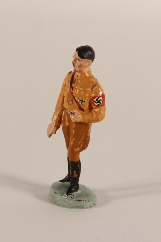 1995.51.2 side Toy figure of Hitler