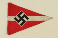 1995.62.3 front Nazi pennant  Click to enlarge