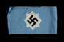 National Air Defense League armband with a swastika on a blue field