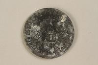 1995.69.2 back Łódź (Litzmannstadt) ghetto scrip, 10 mark coin  Click to enlarge