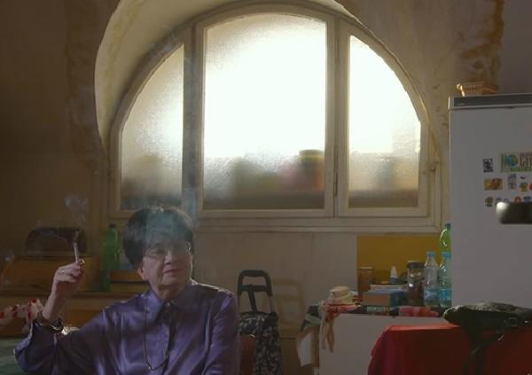 A still image of Zuzana Ruzickova from the film. <i>Courtesy of Harriet Getzels</i>