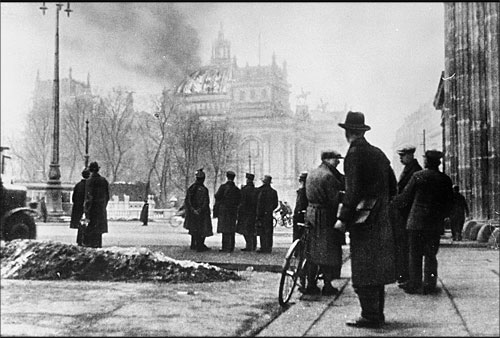 German Reichstag Building Was Destroyed By Fire