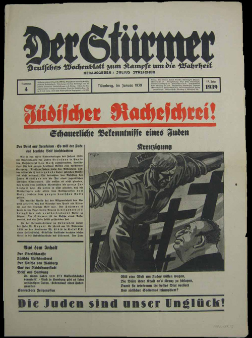 Nazi Propaganda Newspaper