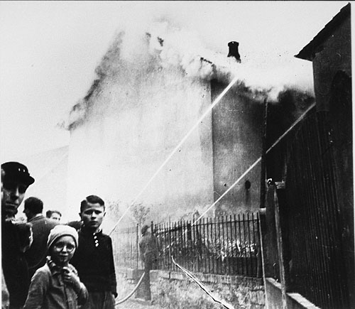 """Kristallnacht """", the night of the broken glass, will live in infamy ..."""
